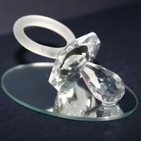 SCHNULLER-GLAS-DIAMANT