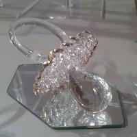 SCHNULLER-GLAS-GOLD