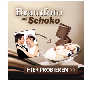 Ihr Brautfoto auf Hochzeitsmandeln gedruckt!